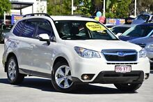 2015 Subaru Forester S4 MY15 2.0D-L CVT AWD White 7 Speed Constant Variable Wagon Toowong Brisbane North West Preview
