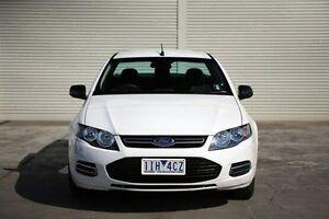 2012 Ford Falcon FG MkII EcoLPi Ute Super Cab White 6 Speed Automatic Utility Seaford Frankston Area Preview