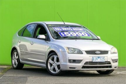 2006 Ford Focus LS LX Silver 5 Speed Manual Hatchback Ringwood East Maroondah Area Preview