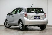 2014 Toyota Prius c NHP10R E-CVT Silver Pearl 1 Speed Constant Variable Hatchback Hybrid Welshpool Canning Area Preview
