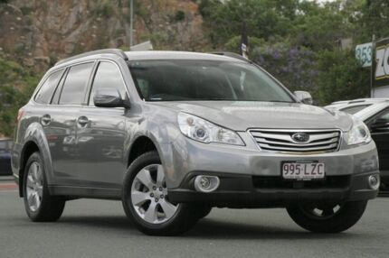2009 Subaru Outback B5A MY10 2.5i Lineartronic AWD Premium Grey 6 Speed Constant Variable Wagon