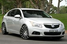 2011 Holden Cruze JH Series II MY12 CD Silver 6 Speed Sports Automatic Hatchback West Gosford Gosford Area Preview