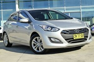2014 Hyundai i30 GD2 MY14 SE Sleek Silver 6 Speed Sports Automatic Hatchback Baulkham Hills The Hills District Preview