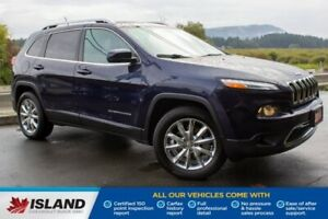 2014 Jeep Cherokee Limited, Leather Interior, Sunroof, Nav Syste