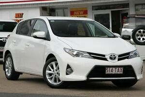 2013 Toyota Corolla ZRE182R Ascent Sport S-CVT White 7 Speed Constant Variable Hatchback Woolloongabba Brisbane South West Preview