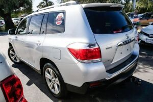 2012 Toyota Kluger GSU40R MY12 KX-S 2WD Silver Pearl 5 Speed Sports Automatic Wagon