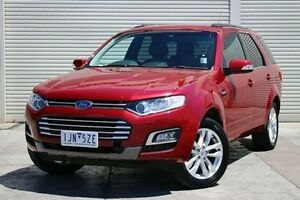2015 Ford Territory SZ MkII TS Seq Sport Shift Red 6 Speed Sports Automatic Wagon Seaford Frankston Area Preview