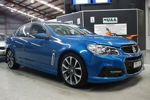 2014 Holden Commodore VF MY14 SV6 Blue 6 Speed Sports Automatic Sedan Maryville Newcastle Area Preview