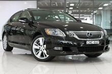 2010 Lexus GS450H GWS191R MY10 Starlight Black 1 Speed Constant Variable Sedan Waterloo Inner Sydney Preview