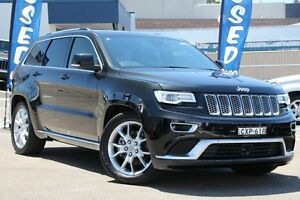 2014 Jeep Grand Cherokee WK MY15 Summit (4x4) Black 8 Speed Automatic Wagon Dee Why Manly Area Preview