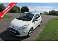 FORD KA 1.2 METAL,2014 1 Owner,Alloys,Air Con,Bluetooth,Glass Roof,Full Service History,Spotless