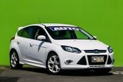 2014 Ford Focus LW MKII MY14 Sport PwrShift Frozen White 6 Speed Sports Automatic Dual Clutch Ringwood East Maroondah Area Preview