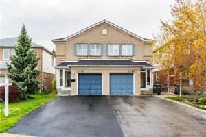 Mississauga 3 Bed 4 Bath Semi-Detached Winston Churchill/Thomas