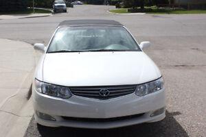 2002 Toyota Solara SLE Convertible