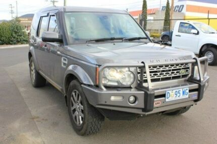 2009 Land Rover Discovery 4  Grey Auto Seq Sportshift Wagon Moonah Glenorchy Area Preview