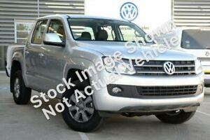 2014 Volkswagen Amarok 2H MY14 TDI400 4Mot Trendline Silver 6 Speed Manual Utility Winnellie Darwin City Preview