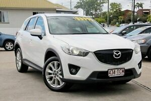 2013 Mazda CX-5 KE1031 MY13 Grand Touring SKYACTIV-Drive AWD White 6 Speed Sports Automatic Wagon Mount Gravatt Brisbane South East Preview