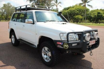 2007 Nissan Patrol GU 5 MY07 ST White 5 Speed Automatic Wagon