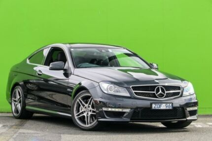2013 Mercedes-Benz C63 C204 MY13 AMG SPEEDSHIFT MCT Grey 7 Speed Sports Automatic Coupe Ringwood East Maroondah Area Preview