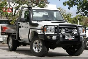 2010 Toyota Landcruiser VDJ79R MY10 GXL French Vanilla 5 Speed Manual Cab Chassis Adelaide CBD Adelaide City Preview