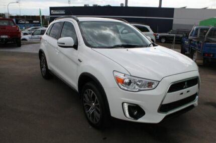 2016 Mitsubishi ASX XB MY15.5 LS 2WD White 6 Speed Constant Variable Wagon Toowoomba Toowoomba City Preview