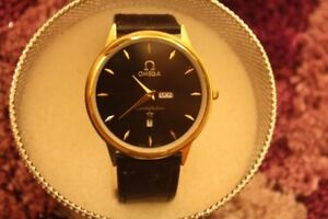 Watches thin faced leather strapped indosed brand name $30 only