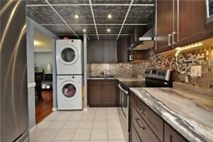 Used Kitchen Cabinets + range hood, counter top, sink, faucet...
