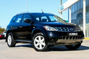 2007 Nissan Murano Z50 TI Black 6 Speed Constant Variable Wagon Kirrawee Sutherland Area Preview
