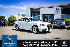 2015 Audi A4 AWD w/ Nav/Backup Camera/Leather/S Line Package