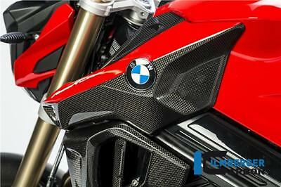 Ilmberger GLOSS Carbon Fibre Air Tube Intake Snorkel Duct Covers BMW F800R 2017