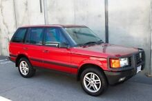 2000 Land Rover Range Rover P38A HSE Burgundy 4 Speed Automatic Wagon Mount Hawthorn Vincent Area Preview