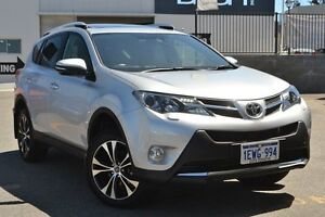 2015 Toyota RAV4 ASA44R MY14 Cruiser AWD Silver Pearl 6 Speed Sports Automatic Wagon Claremont Nedlands Area Preview