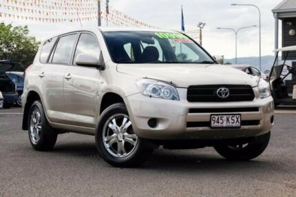2006 Toyota RAV4 ACA33R CV Gold 4 Speed Automatic Wagon