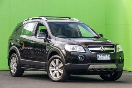 2009 Holden Captiva CG MY09.5 LX AWD Black 5 Speed Sports Automatic Wagon Ringwood East Maroondah Area Preview