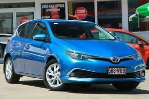 2015 Toyota Corolla ZRE182R Ascent Sport S-CVT Blue Gem 7 Speed Constant Variable Hatchback Woolloongabba Brisbane South West Preview