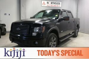 2012 Ford F-150 4WD FX4 LUXURY Leather,  Heated Seats,  Sunroof,