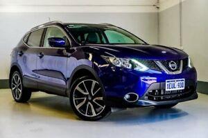 2015 Nissan Qashqai J11 TI Blue 1 Speed Constant Variable Wagon Wangara Wanneroo Area Preview