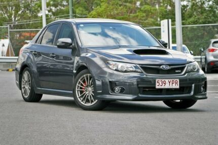 2013 Subaru Impreza G3 MY13 WRX AWD Grey 5 Speed Manual Sedan Hillcrest Logan Area Preview
