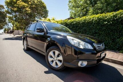 2010 Subaru Outback B5A MY10 2.5i Lineartronic AWD Premium Black 6 Speed Constant Variable Wagon Hove Holdfast Bay Preview