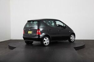 2000 Mercedes-Benz A190 W168 Avantgarde Black 5 Speed Automatic Hatchback McGraths Hill Hawkesbury Area Preview