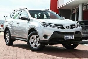 2015 Toyota RAV4 ZSA42R MY14 GX 2WD Silver 7 Speed Constant Variable Wagon Midland Swan Area Preview