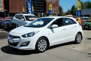 2012 Hyundai i30 GD Active White 6 Speed Sports Automatic Hatchback Berwick Casey Area Preview
