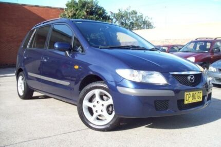 2001 Mazda Premacy Blue 5 Speed Manual Hatchback Windsor Hawkesbury Area Preview