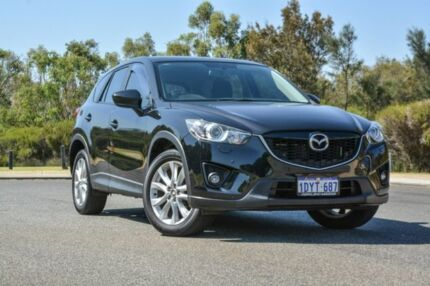 2012 Mazda CX-5 KE1071 Grand Touring SKYACTIV-Drive AWD Black 6 Speed Sports Automatic Wagon Wilson Canning Area Preview
