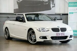 2012 BMW 320d E93 MY0312 Steptronic White 6 Speed Sports Automatic Convertible
