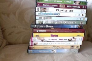 DVDs VIEWED ONCE ~ MINT CONDITION