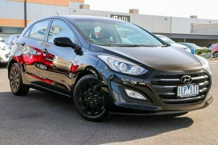 2015 Hyundai i30 GD3 Series II MY16 Active Black 6 Speed Sports Automatic Hatchback Preston Darebin Area Preview