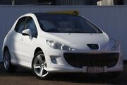 2008 Peugeot 308 T7 XTE White 4 Speed Sports Automatic Hatchback Chermside Brisbane North East Preview
