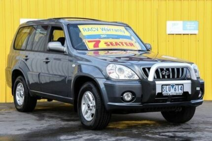 2003 Hyundai Terracan HP Warm Grey 5 Speed Manual Wagon Upper Ferntree Gully Knox Area Preview