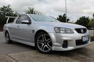 2010 Holden Ute VE II SV6 Silver 6 Speed Manual Utility Berwick Casey Area Preview